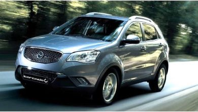 Photo of 2011-2012 SsangYong Korando OEM Service and Repair Manual.