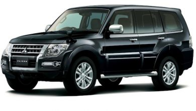 Photo of 2015 Mitsubishi Pajero IV, OEM Service and Repair Manual.