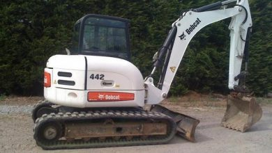 Photo of Bobcat 442 Compact Excavator, OEM Factory Service Repair Manual
