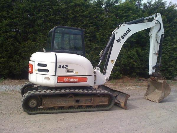 Bobcat 442 Compact Excavator