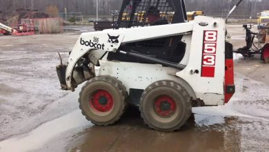 Photo of Bobcat 853 and 853H Skid Steer Loader, OEM Service and Repair Manual with Parts & Operator Manual