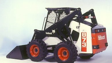 Photo of Bobcat 873, OEM Service and Repair Manual with Parts Manual.