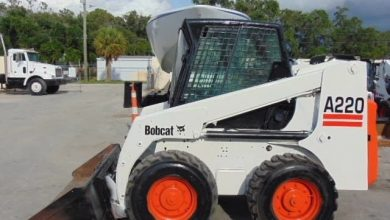 Photo of Bobcat A220 Turbo and Turbo High Flow, OEM Service and Repair Manual with Parts Manual.