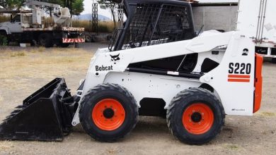 Photo of Bobcat S220 Skid-Steer Loader, OEM Factory Service and Repair Manual.