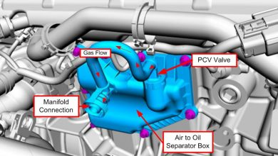 Photo of Positive Crankcase Ventilation( PCV) Valve Replacement.