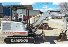 Bobcat X331 Excavator