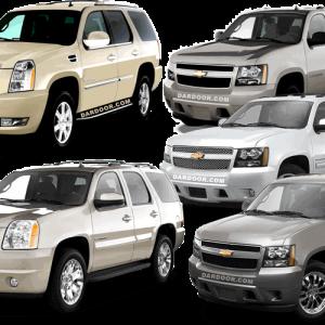 2007-2013 Cadillac Escalade, CHevrolet Avalanche, Chevrolet Tahoe, Chevrolet Suburban and GMC Yukon and Yukon XL